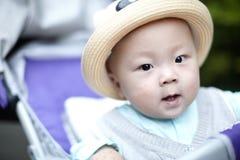 Bebê no chapéu Foto de Stock Royalty Free