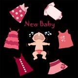 Bebê novo Imagem de Stock Royalty Free