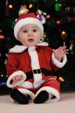 Bebê Papai Noel Imagem de Stock Royalty Free