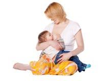 Bebê pequeno Imagens de Stock Royalty Free