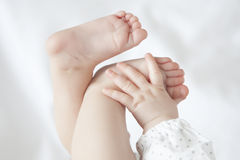 Bebê pequeno Foto de Stock