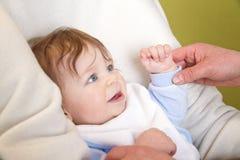 Bebê pequeno Foto de Stock Royalty Free