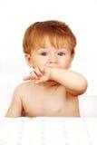 Bebê pequeno. Fotografia de Stock