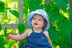 Bebê pequeno bonito fotografia de stock royalty free