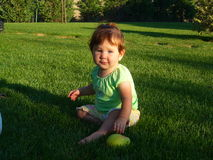 Bebê precioso Imagens de Stock Royalty Free