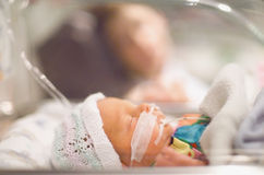 Bebê prematuro Fotografia de Stock Royalty Free