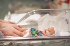 Bebê prematuro imagem de stock