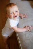 Bebê que está acima Foto de Stock