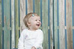 Bebê que tem o divertimento imagens de stock royalty free
