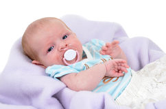 Bebê quieto Imagens de Stock