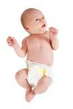Bebê recém-nascido foto de stock
