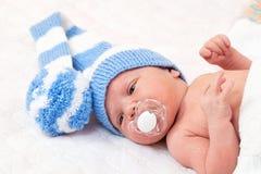 Bebê recém-nascido imagem de stock royalty free
