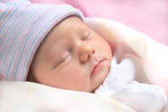 Bebê recém-nascido Fotografia de Stock Royalty Free