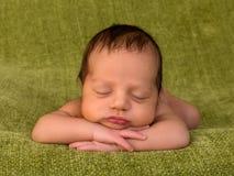Bebê recém-nascido africano foto de stock