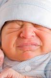 Bebê recém-nascido de grito Imagens de Stock Royalty Free