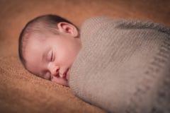 Bebê recém-nascido doce bonito Imagens de Stock