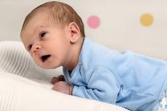 Bebê recém-nascido pequeno Foto de Stock Royalty Free