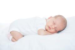 Bebê recém-nascido uma idade do mês Foto de Stock