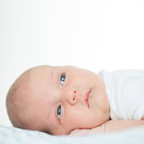 Bebê recém-nascido uma idade do mês Imagens de Stock