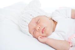 Bebê recém-nascido uma idade do mês Imagem de Stock