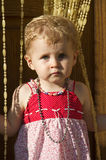 Bebê receoso imagem de stock royalty free