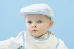 Bebê sério Imagens de Stock