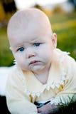 Bebê sério Foto de Stock