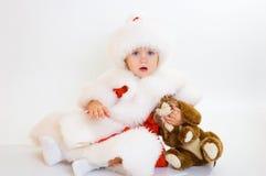 Bebê Santa Imagens de Stock