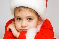 Bebê Santa Fotografia de Stock Royalty Free