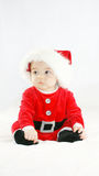 Bebê Santa fotografia de stock