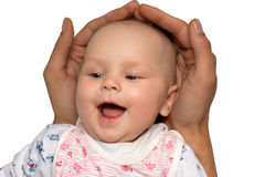 Bebê seguro fotografia de stock royalty free
