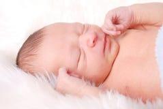 Bebê sonolento imagens de stock royalty free