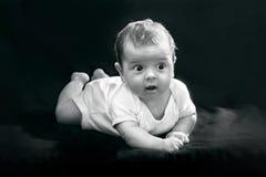 Bebê Startled Imagem de Stock Royalty Free