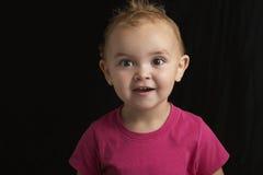 Bebê surpreendido Fotos de Stock Royalty Free