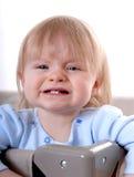 Bebê triste Imagens de Stock