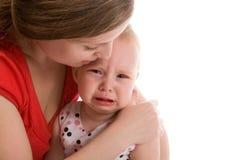 Bebê virado Imagens de Stock Royalty Free