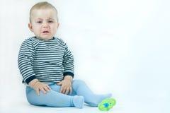 Bebê virado Fotografia de Stock