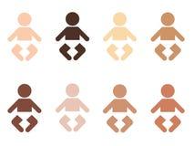 bebês Imagens de Stock