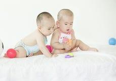 Bebês bonitos Imagens de Stock