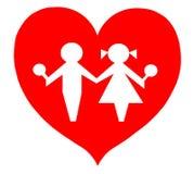 Bebês dos miúdos das crianças de amor Foto de Stock