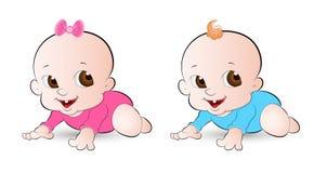 Bebês inocentes Imagens de Stock Royalty Free
