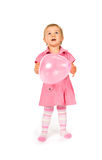 Bebê bonito com ballon Fotografia de Stock Royalty Free