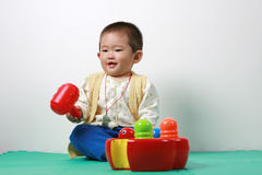 Bebê chinês Fotos de Stock Royalty Free