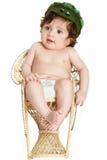 Bebé con el sombrero Foto de archivo libre de regalías