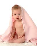 Bebé cubierto Fotos de archivo libres de regalías