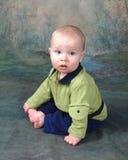 Bebê de assento Foto de Stock