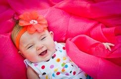 Bebê de bocejo ou de grito Imagem de Stock