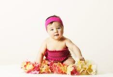 Bebé de la playa Foto de archivo