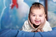 Bebê de sorriso Fotografia de Stock Royalty Free