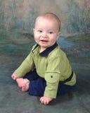 Bebê de sorriso Imagens de Stock